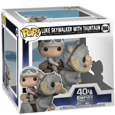 Фигурка Funko Головотряс Star Wars: 40th The Empire Strikes Back - POP! - Luke Skywalker with TaunTaun 46764 (13 см)