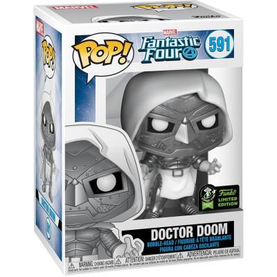 Фигурка Funko Головотряс Fantastic Four - POP! - Doctor Doom (Exc) 45913 (9.5 см)