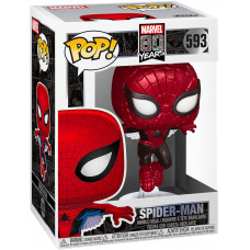 Головотряс Marvel 80 Years - POP! - Spider-Man (Metallic) (Exc) (9.5 см)
