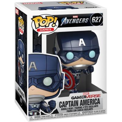 Фигурка Funko Головотряс Avengers (Gamerverse) - POP! Game - Captain America 47757 (9.5 см)
