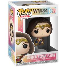 Фигурка Wonder Woman 1984 - POP! Heroes - Wonder Woman Flying (Metallic) (9.5 см)