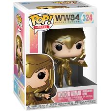 Фигурка Wonder Woman 1984 - POP! Heroes - Wonder Woman Golden Armor Flying (Metallic) (Exc) (9.5 см)