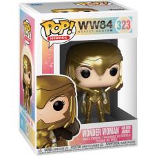 Фигурка Wonder Woman 1984 - POP! Heroes - Wonder Woman Golden Armor (Metallic) (9.5 см)