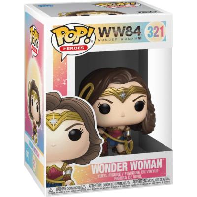 Фигурка Funko Wonder Woman 1984 - POP! Heroes - Wonder Woman (Metallic)  46663 (9.5 см)