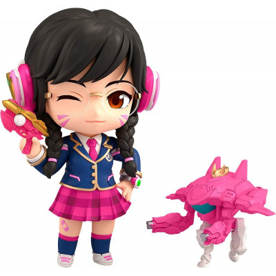 Фигурка Good Smile Overwatch - Nendoroid - D.Va (Academy Skin Edition) 1141 (10 см)
