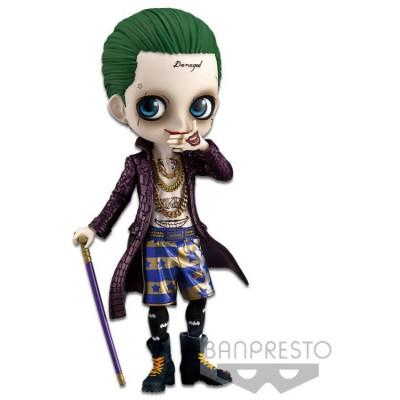 Фигурка Banpresto Suicide Squad - Q posket - The Joker (A Normal color) 82679P (14 см)