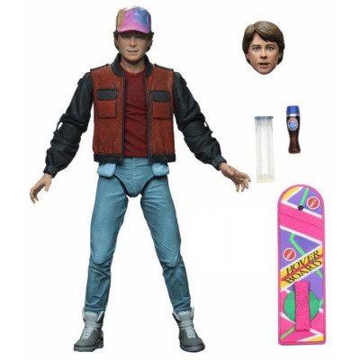 Фигурка NECA Back to the Future: Part 2 - Action Figure Ultimate - Marty McFly (18 см)