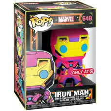 Головотряс Marvel - POP! - Iron Man (Black Light) (Exc) (9.5 см)