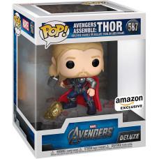 Головотряс Avengers - POP! Deluxe - Avengers Assemble: Thor (Exc) (14 см)