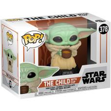 Головотряс Star Wars: The Mandalorian - POP! - The Child with Cup (9.5 см)