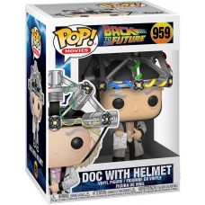 Фигурка Back to the Future - POP! Movies - Doc with Helmet (9.5 см)