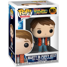 Фигурка Back to the Future - POP! Movies - Marty in Puffy Vest (9.5 см)