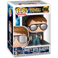 Фигурка Back to the Future - POP! Movies - Marty with Glasses (9.5 см)