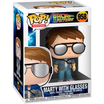 Фигурка Funko Back to the Future - POP! Movies - Marty with Glasses 46912 (9.5 см)