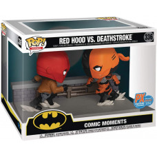 Набор фигурок Batman - POP! Comic Moments - Red Hood vs Deathstroke (9.5 см)