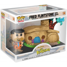 Набор фигурок Flintstones - POP! Town - Fred Flintstone with Home (13 см)