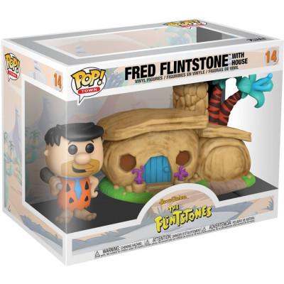 Набор фигурок Funko Flintstones - POP! Town - Fred Flintstone with Home 47681 (13 см)