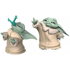 Набор фигурок Star Wars: The Mandalorian - The Bounty Collection - The Child (Froggy Snack & Force Moment) (5.5 см)