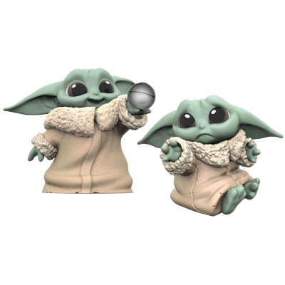 Набор фигурок Hasbro Star Wars: The Mandalorian - The Bounty Collection - The Child (Hold Me & Ball Toy) (5.5 см)
