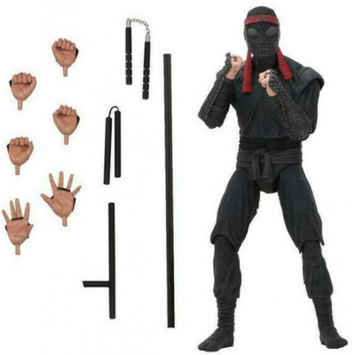Фигурка NECA Teenage Mutant Ninja Turtles (1990) - Action Figure - Foot Soldier (melee weaponry) (18 см)