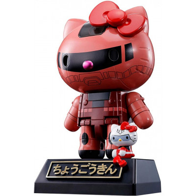 Фигурка Tamashii Nations Hello Kitty - Chogokin - Hello Kitty (Char's Zaku II) 596161 (10.5 см)