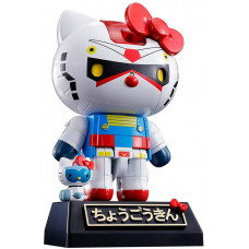 Фигурка Hello Kitty - Chogokin - Hello Kitty (RX-78-2 Gundam) (10.5 см)