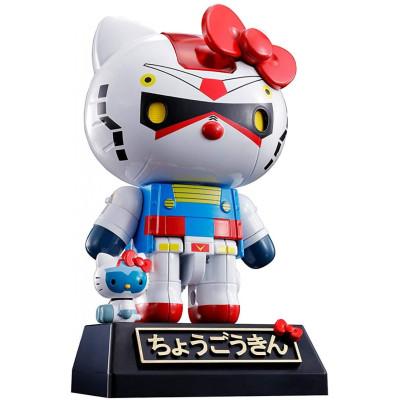 Фигурка Tamashii Nations Hello Kitty - Chogokin - Hello Kitty (RX-78-2 Gundam) 596154 (10.5 см)