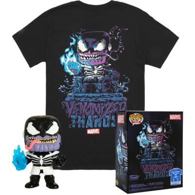 Набор Funko Marvel - POP! Tees - Venomized Thanos (фигурка/ футболка)