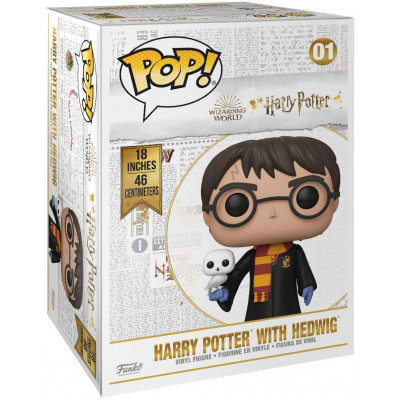 Фигурка Funko Harry Potter - POP! - Harry Potter with Hedwig 48054 (46 см)