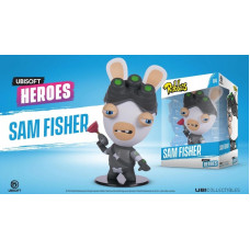 Фигурка Rabbids - Ubisoft Heroes - Chibi Sam Fisher (10 см)