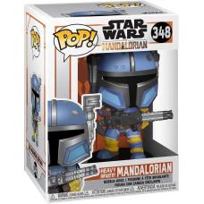 Головотряс Star Wars: The Mandalorian - POP! - Heavy Infantry Mandalorian (9.5 см)