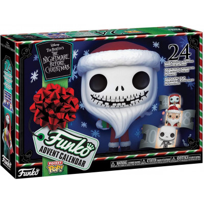 Набор фигурок Funko The Nightmare Before Christmas - Pocket POP! - Advent Calendar 49668 (4 см)