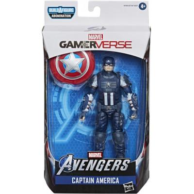 Фигурка Hasbro Avengers (GamerVerse) - Legends Series - Captain America E9181 (15 см)