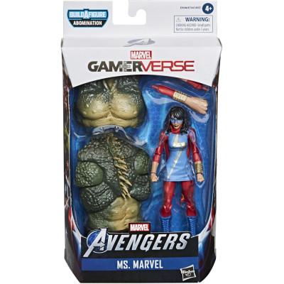 Фигурка Hasbro Avengers (GamerVerse) - Legends Series - Ms Marvel E9184 (15 см)