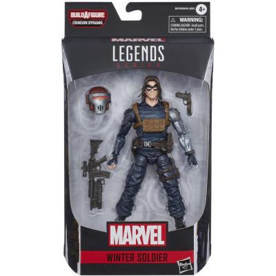Фигурка Hasbro Marvel Comics - Legends Series - Winter Soldier E8770 (15 см)