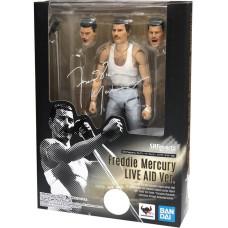 Фигурка Queen - S.H.Figuarts - Freddie Mercury (Live Aid Ver) (15 см)