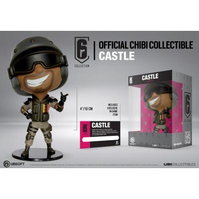 Фигурка Ubisoft Tom Clancy's Rainbow Six: Siege - Six collection - Castle (10 см)