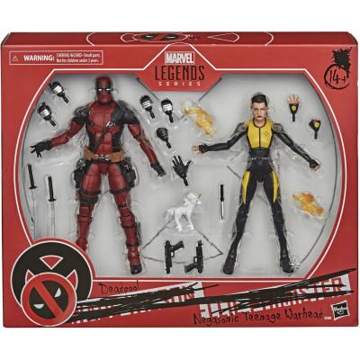 Набор фигурок Hasbro Deadpool - Legends Series - Deadpool & Negasonic Teenage Warhead E9288 (15 см)