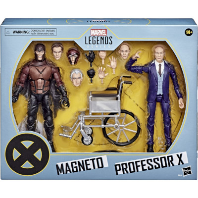 Набор фигурок Hasbro X-Men - Legends Series - Magneto & Professor X E9290 (15 см)
