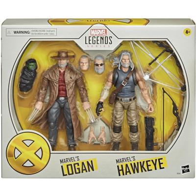 Набор фигурок Hasbro X-Men - Legends Series - Marvel's Hawkeye & Marvel's Logan E9296 (15 см)