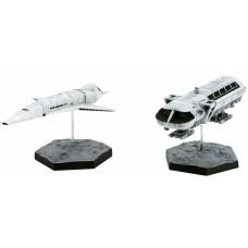 Набор фигурок 2001: A Space Odyssey - Aries Orion III & Moon Rocket Bus (14.5/8.7 см)