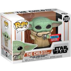 Головотряс Star Wars: The Mandalorian - POP! - The Child with Pendant (Exc) (9.5 см)