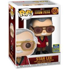 Головотряс Iron Man - POP! - Stan Lee (In Smart Suit) (Exc) (9.5 см)