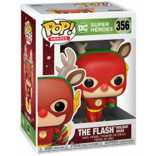 Фигурка DC: Super Heroes - POP! Heroes - Flash Holiday Dash (9.5 см)