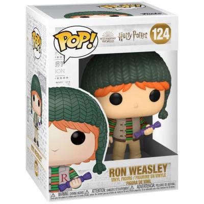 Фигурка Funko Harry Potter - POP! - Ron Weasley (Holiday) 51154 (9.5 см)