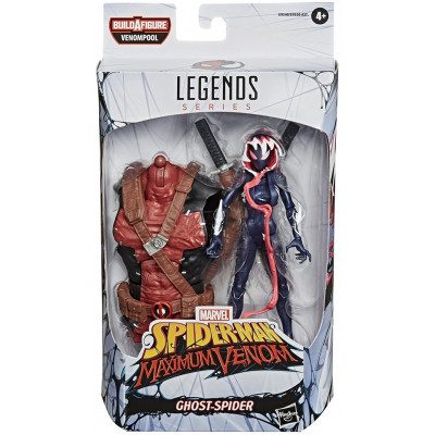 Фигурка Hasbro Spider-Man: Maximum Venom - Legends Series - Ghost-Spider E9340 (15 см)
