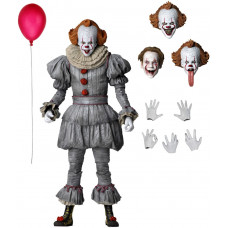 Фигурка IT: Chapter Two - Ultimate Action Figure - Pennywise (2019 Movie) (18 см)