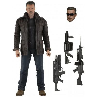 Фигурка NECA Terminator: Dark Fate - Action Figure - T-800 (18 см)