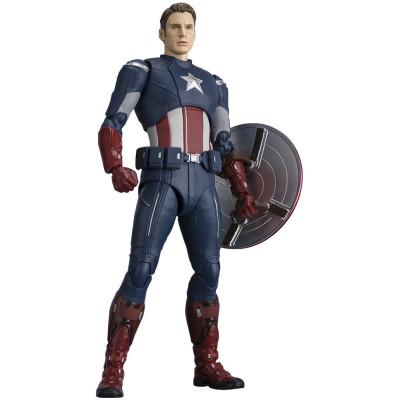 Фигурка Tamashii Nations Avengers: Endgame - S.H.Figuarts - Captain America (Cap vs Cap) 595232 (15 см)
