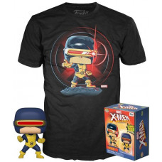 Набор X-Men - POP! Tees - Cyclops (фигурка/ футболка)
